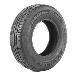 4. Carlisle Radial Trail HD Trailer Tire-175/80R13 96M 8-ply