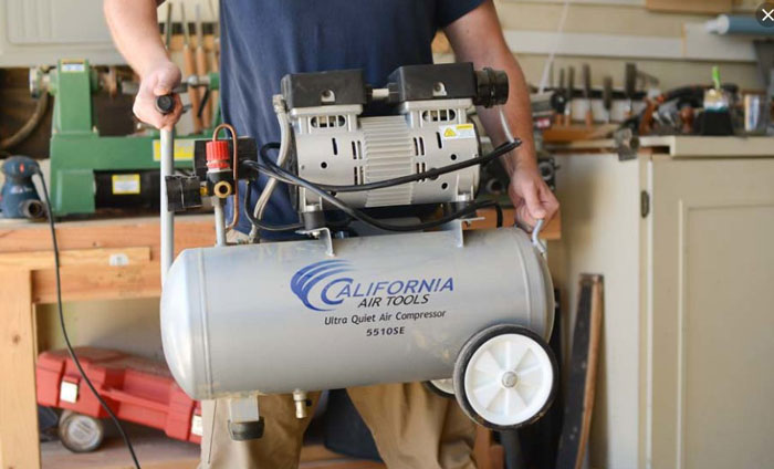 Why air compressor making noise